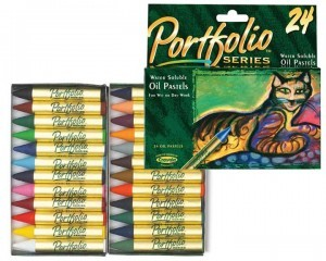Crayola 24ct PortfolioSeries Oil Pastels,  available at Amazon.com