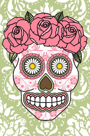 Day of the Dead Postcard Swap