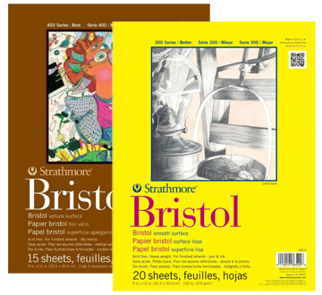 Strathmore has Bristol in both its 300 and 400 series pads, available on Amazon.com.