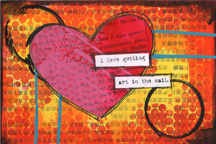 Valentine Postcard Swap