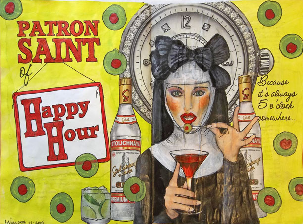 Patron Saint of Happy Hour