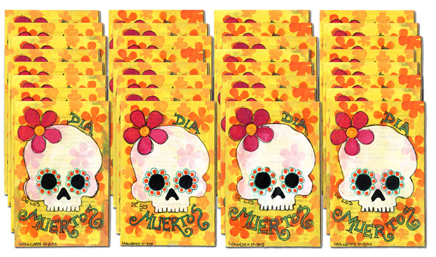 28 Day of the Dead Postcards