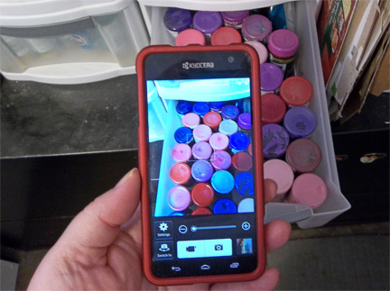 Shopping For Paint With Your Phone