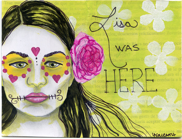 Lisa Was Here Mini Journal Pages