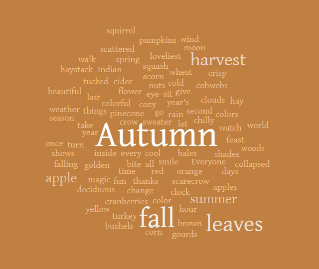 50+ Autumn Prompts