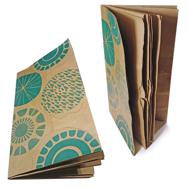 Making a Paper Bag Journal