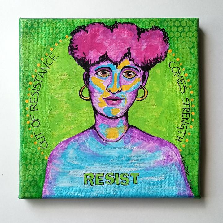 Resist Canvas