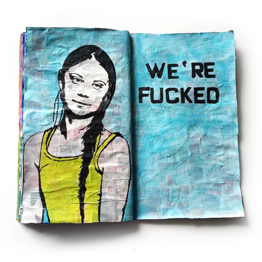 Greta Journal Pages