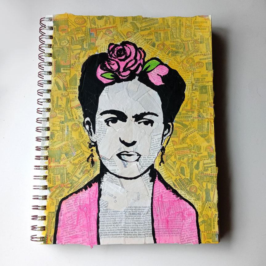 Frida Journal Page