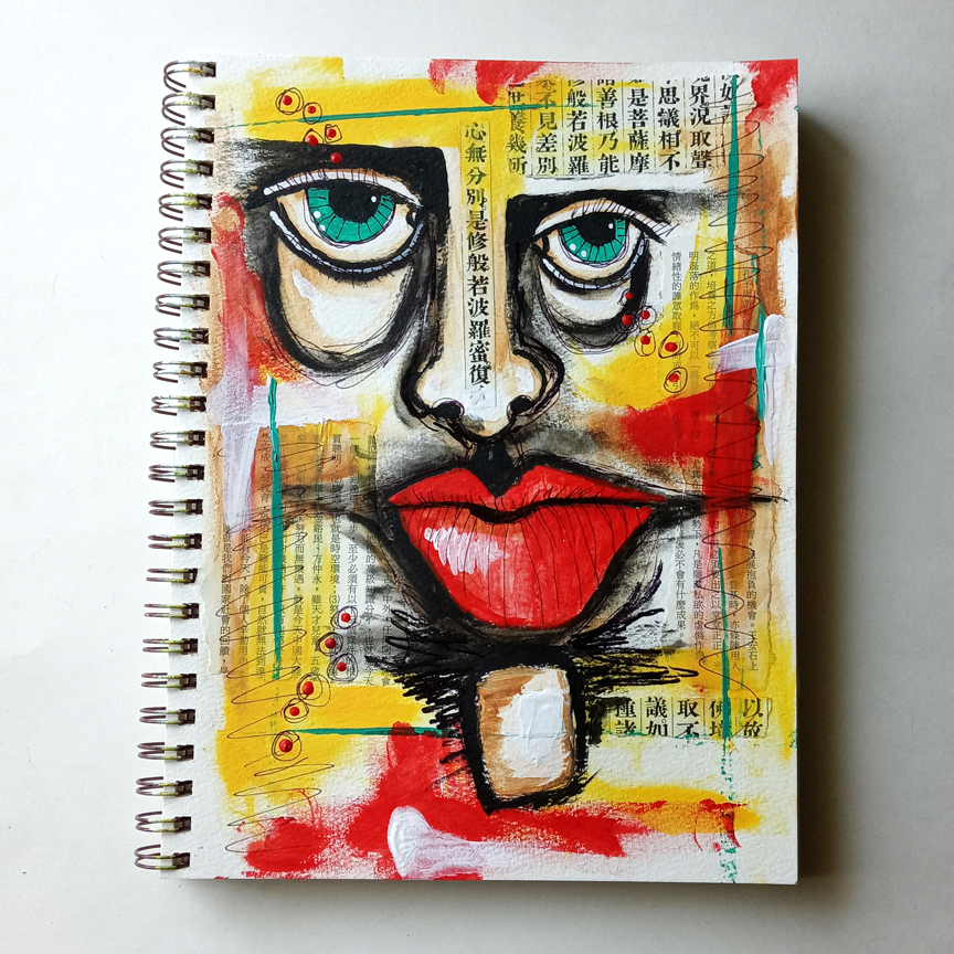 Deb Weiers Inspired Journal Pages